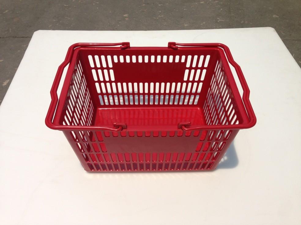 Пластиковые покупательские корзинки оптом из Китая