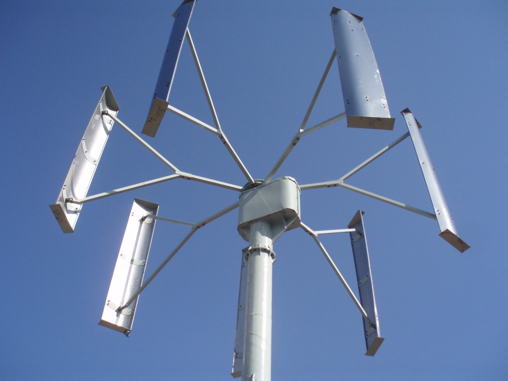 Ветрогенератор из Китая