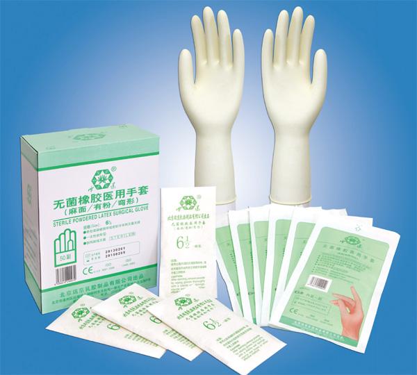 Перчатки медицинские из Китая