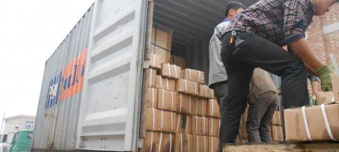 Контроль отгрузки со склада в Китае