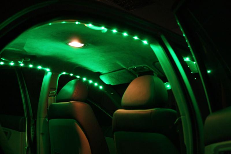 Светодиод подсветка автомобиля