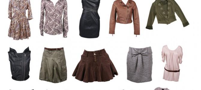 женские одежды
