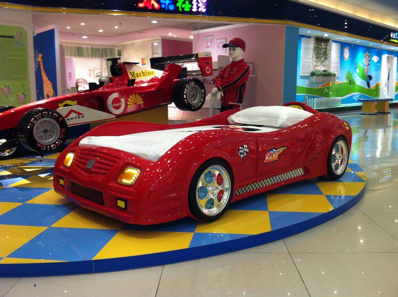 детские кровать-машины