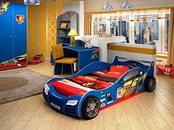 детские кровать-машины.